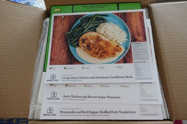 home chef review recipes