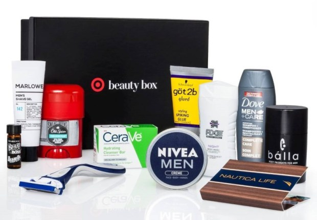 target men's june beauty box