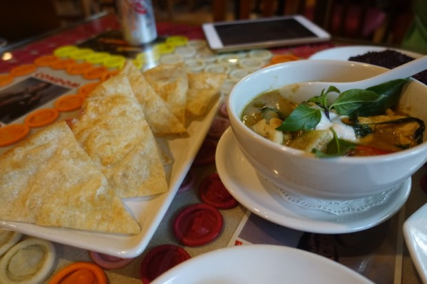 Cabbage and Condoms Bangkok Restaurant Review green chicken curry