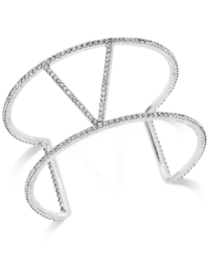 INC International Concepts Pavé V Style Cuff Bracelet <$15