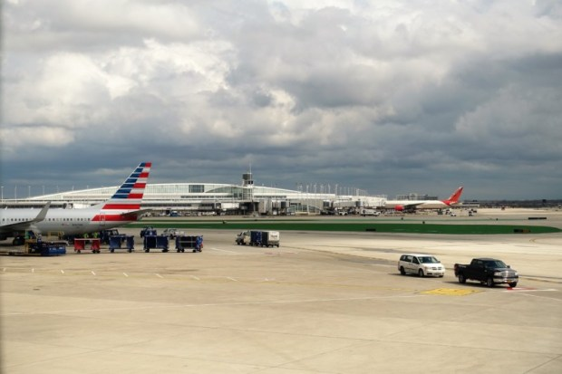american airlines business class 787 ord-nrt on tarmac delay