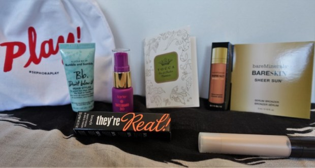 june sephora play box contents
