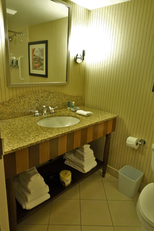 Four Points Fallsview King Bathroom Niagara Falls Hotels