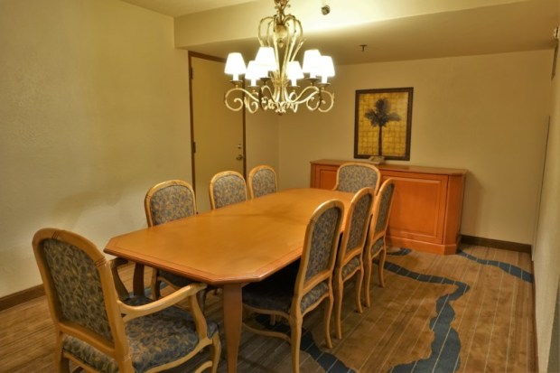 Sheraton Old San Juan Hotel Review Governors Suite Dining Room