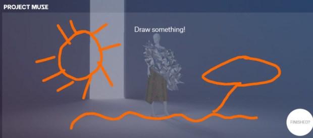 Google Fashion Project Muse draw something