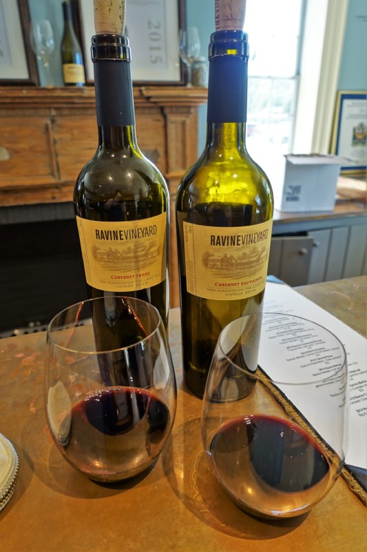 ravine-vineyard-reds-wine-tasting-niagara