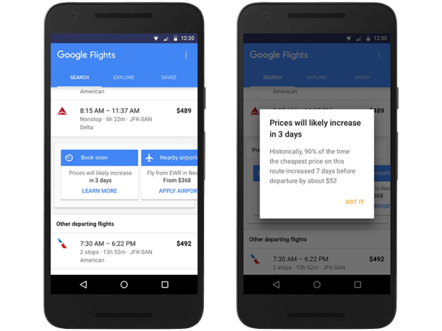google-flights-price-increase-alert