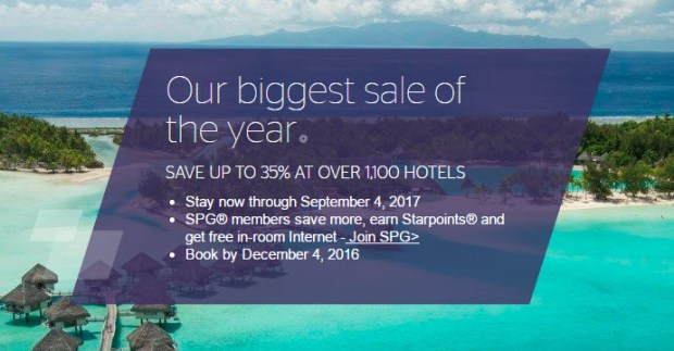 starwood-biggest-sale-of-the-year
