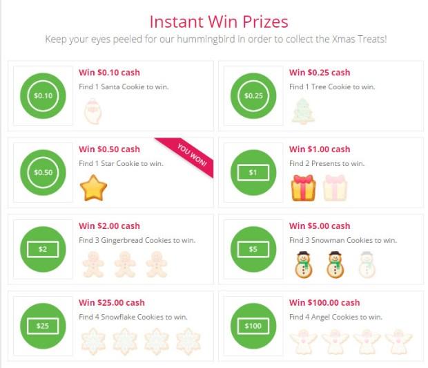 topcashback-xmas-treats-giveaway-prizeboard