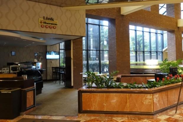 Sheraton Atlanta Airport Club Room Link Cafe