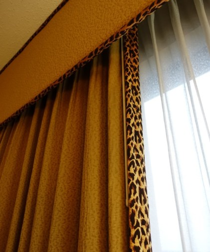 Sheraton Atlanta Airport Club Room leopard print