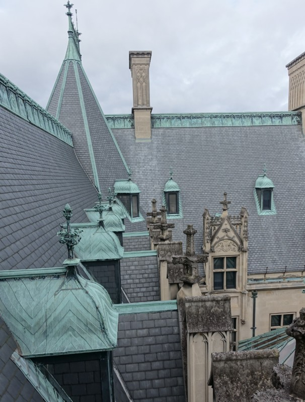 Biltmore Estate rooftops