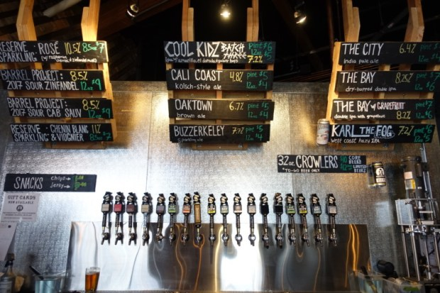 Calicraft Brewing Tasting Room Options