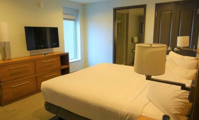 King Suite Bedroom Hyatt Place Asheville NC hotels