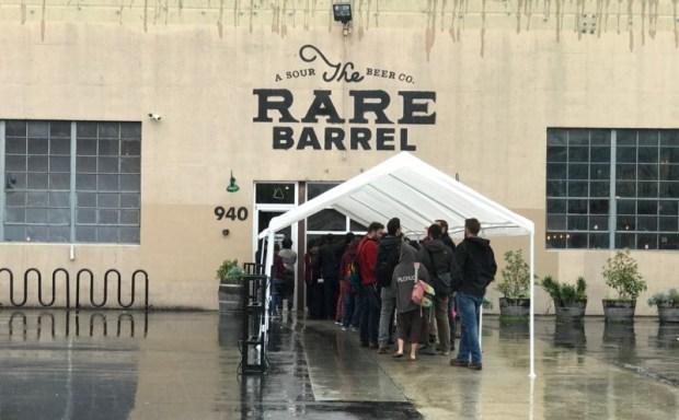 The Rare Barrel SF Beer Week Wicked Weed Line