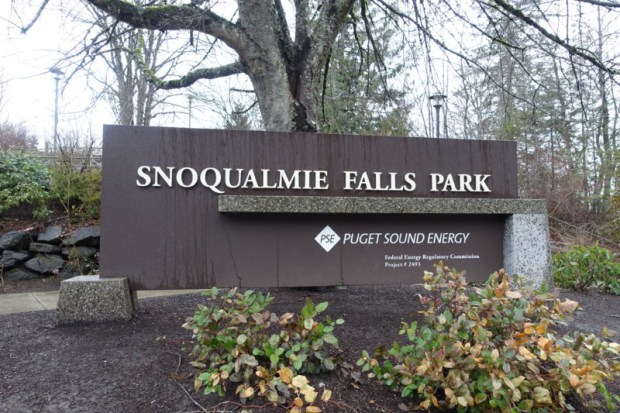 Snoqualmie Falls Park Seattle