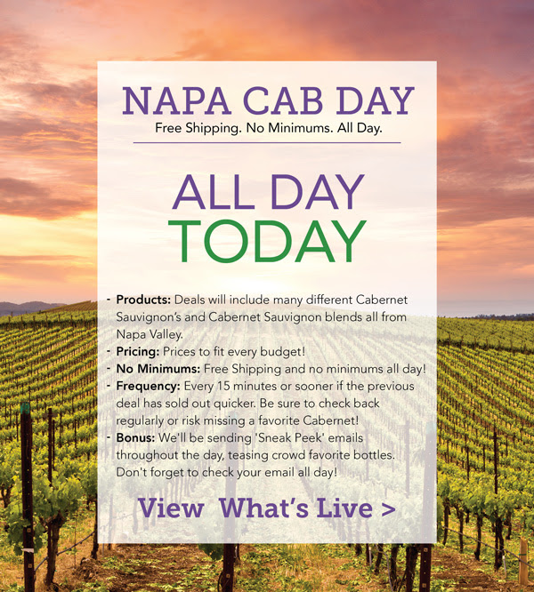 WTSO napa cab day