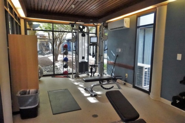 Doubletree Berkeley Marina Hotel Review Weight Room