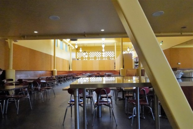 Vik's Chaat Berkeley Indian Food dining area