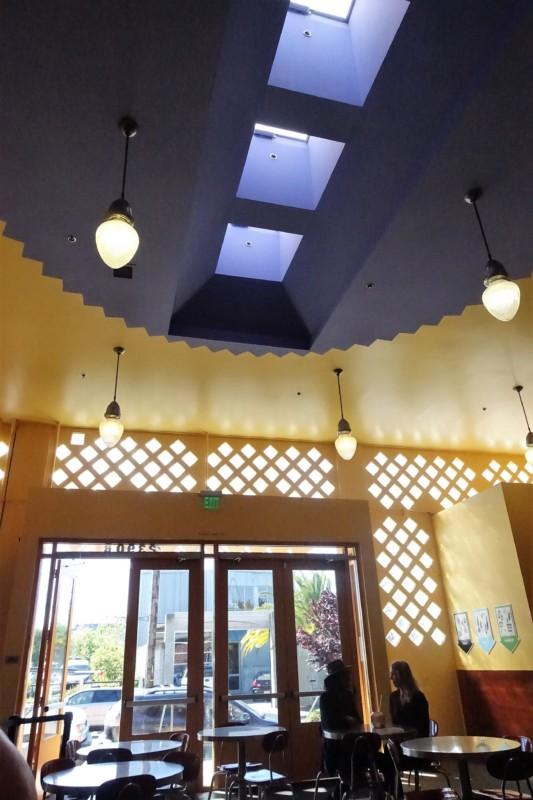 Vik's Chaat Berkeley Indian Food skylight