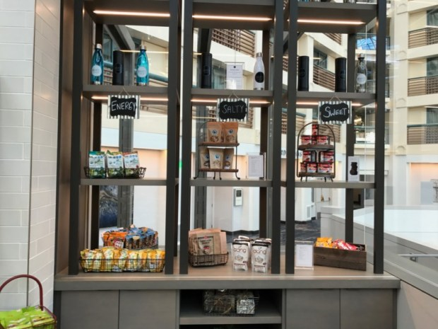 hyatt regency san francisco airport grab and go snacks