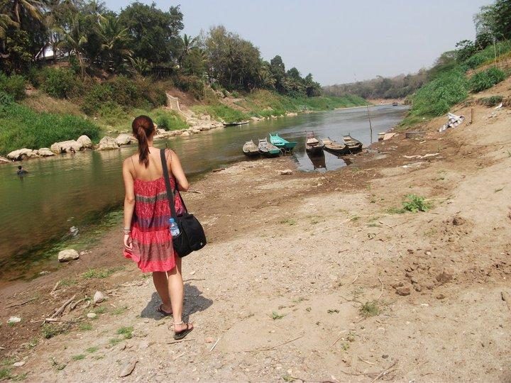 H&M Cotton Swing Dress in Luang Prabang