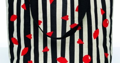 Lulu Guinness Tote Bag for Red Nose Day