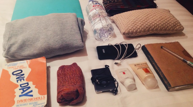 What's in your Carry-On, Charlie Burness?