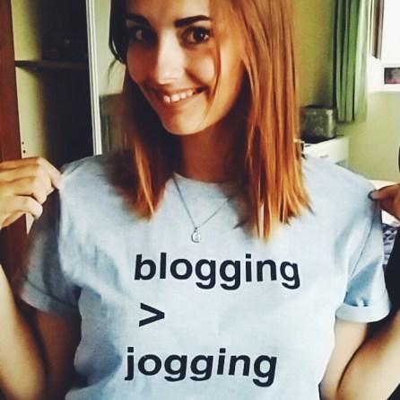 Blogging > Jogging