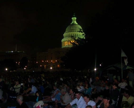 Symphony Orchestra at the Capitol Building