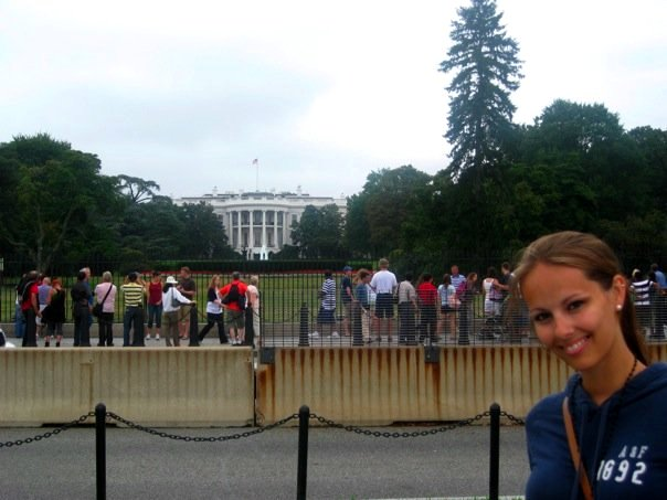Outside the White House, DC