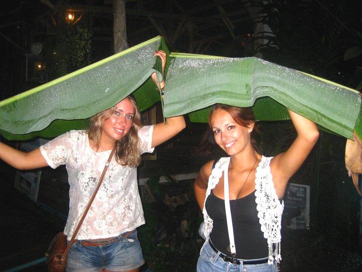 Rain in Koh Phi Phi, Thailand