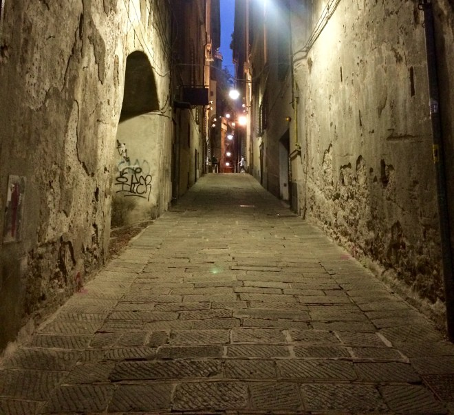 Genoa at Night