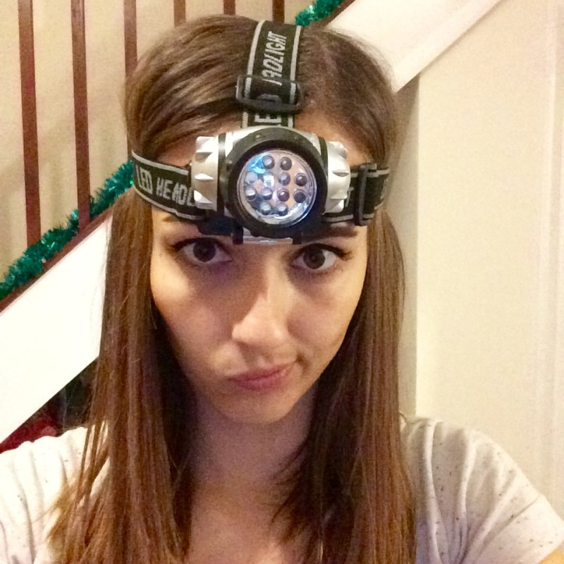 My experience with a head torch