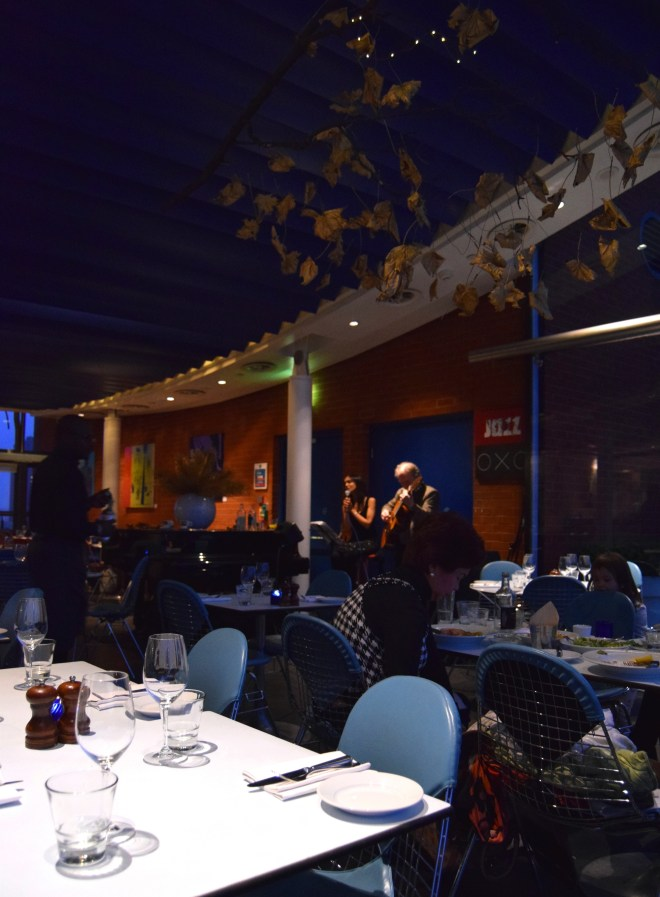Jazz Singer at OXO Tower Restaurant