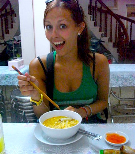 Eating everything in Vietnam