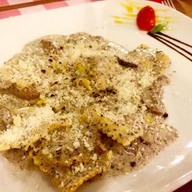 Osteria Vecchio Vicolo Firenze Ravioli