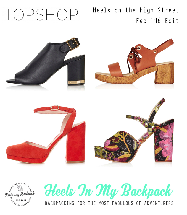 Heels On The High Street - Feb 16 Topshop