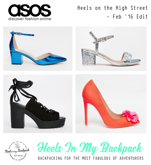 Heels On The High Street - Feb 16 ASOS