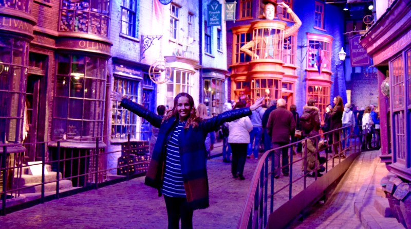 Making of Harry Potter - Diagon Alley