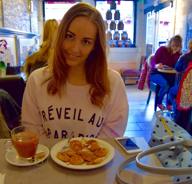 Poffertjes pancakes in Amsterdam
