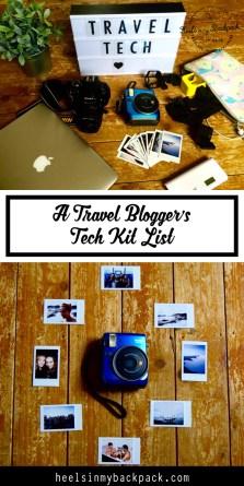 Pin Me - A Travel Blogger's Tech Kit List