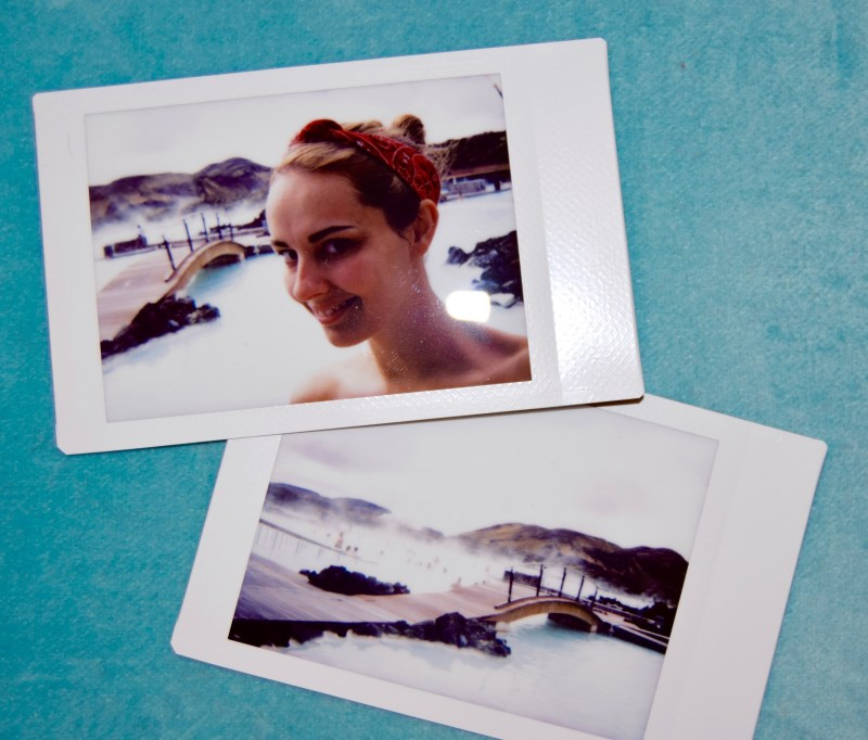Instax shots at the Blue Lagoon