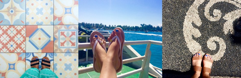 Bali Packing List - Shoes