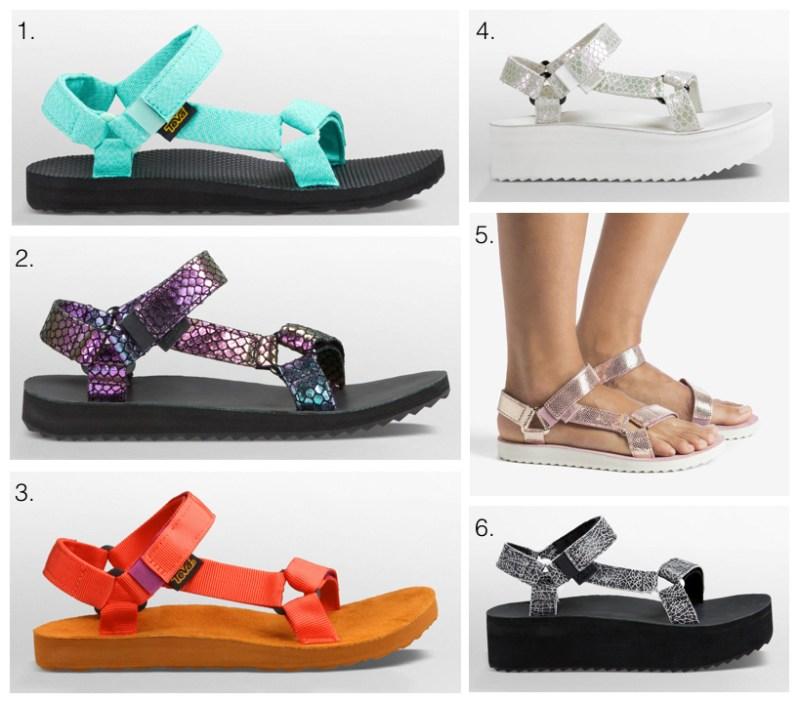 Teva sandals 2016