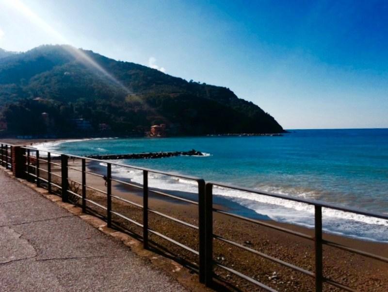 Levanto Beach, Italy
