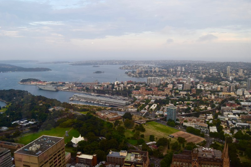 View from Sydney Tower Buffet