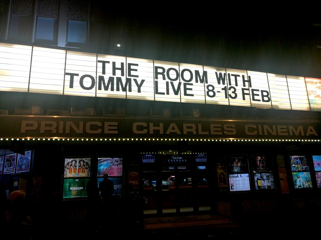 The Room Live At Prince Charles Cinema London Heels In