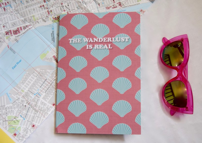 Etsy Shell Notebook