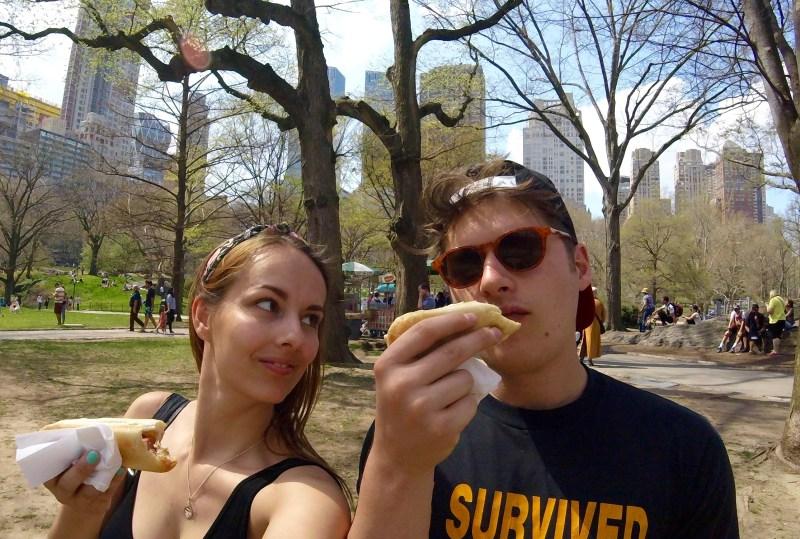 Hotdogs in Central Park